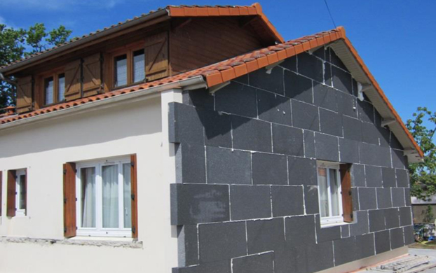 L 39 isolation par l ext rieur meilleure solution pour un for Isolation facade exterieur
